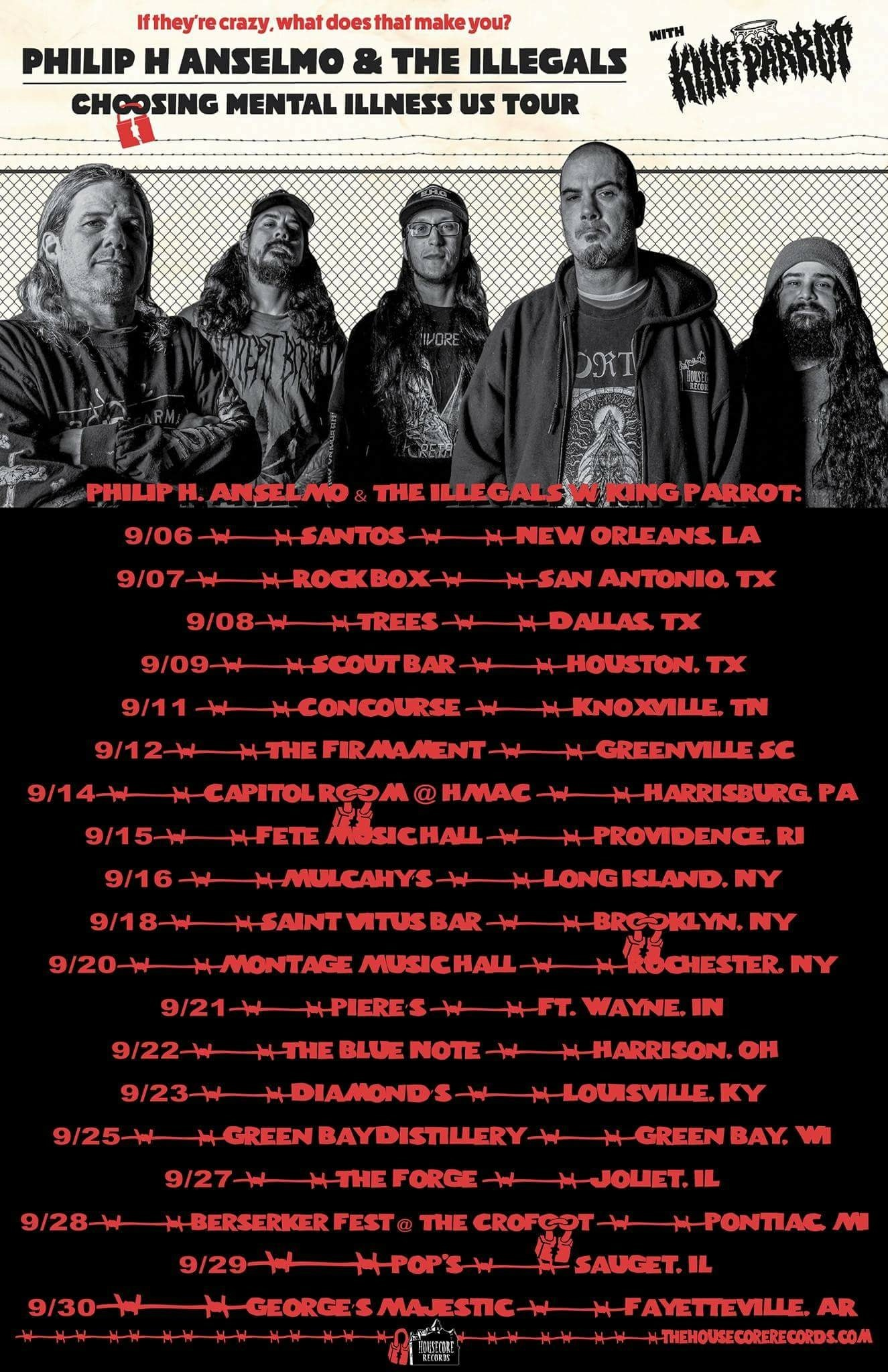 New Orleans with Philip H. Anselmo and The Illegals